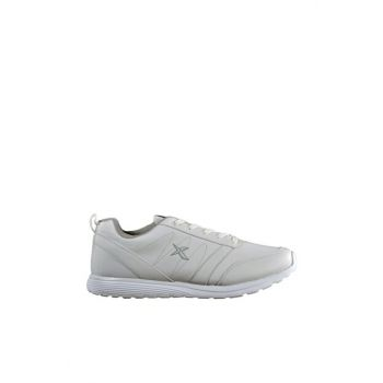 White Gray Men's Running & Training Shoes VALENTO 9PR