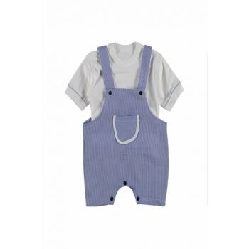 Blue Baby Girl Noli Seloped 2 Pieces Suit 10MAM604