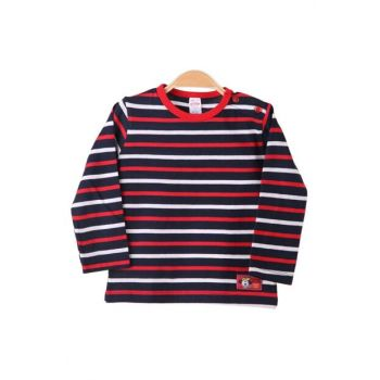 Baby Boy Patterned Body Striped Red 3461.2-22