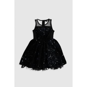 Girls' NEW BLACK CVL Dress 9WN142Z4