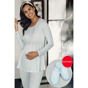 Women's Blue Lohusa Pajama Set MBP23734-2
