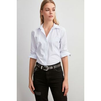 White Basic Shirt TWOAW20GO0171