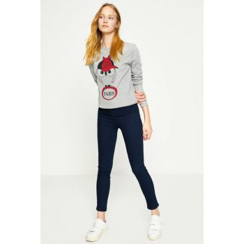 Women's Casual Slim Fit Jean 8YAL41000JD