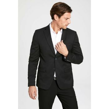 Men's Black Jacket 9W1963Z8