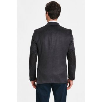 Men's Black Jacket 8WO391Z8