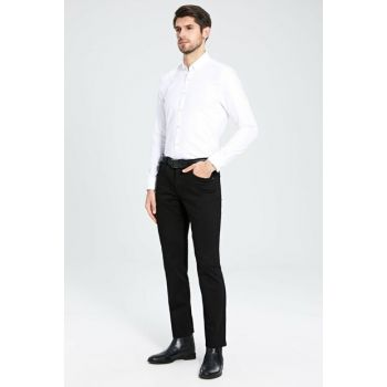 Men's New Black Trousers 9W9062Z8