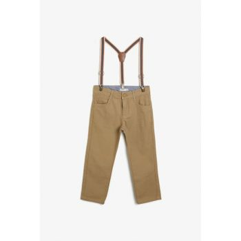 Camel Feather Boy Trousers 0KKB46948OW