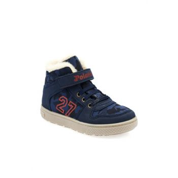 Navy Blue Boy Boots 000000000100331676