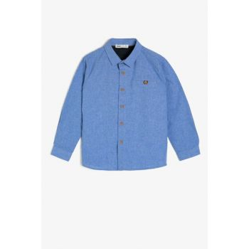 Blue Children's Shirt 0KKB68692OW