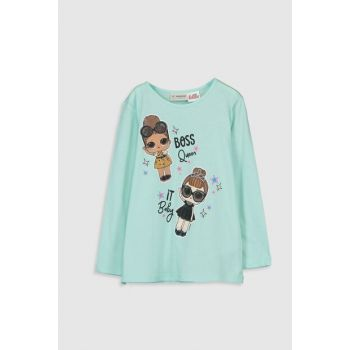 Girl's Outdoor Turquoise Fve T-shirt 9WS318Z4