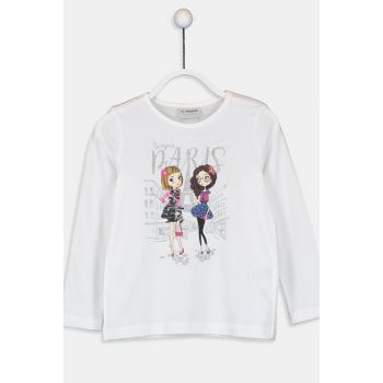 Girl Boy Optical White E5X T-Shirt 9WH615Z4