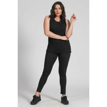 Women's Basic Leggings-Black-Bb PRA-236811-584870