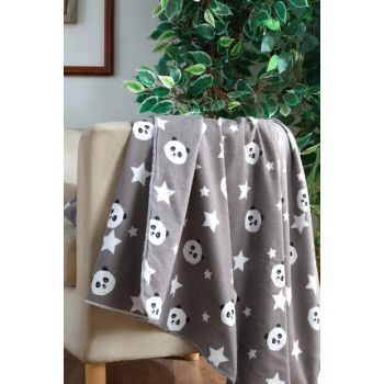 100% Cotton Baby Blanket with Panda 153-99-000003