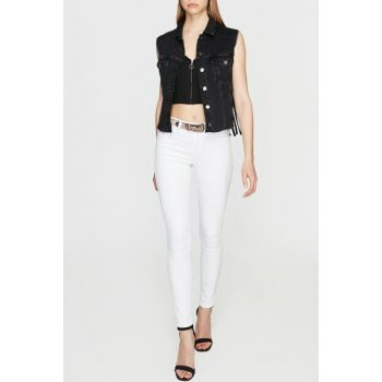 Women's Alissa White Gold Jean 1067824747