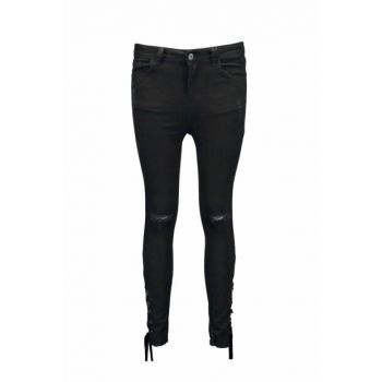 Women Black Trousers MARY UCB021597A41
