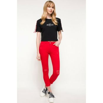 Women Anna Ankle Length Denim Pants I8873AZ.18SM.RD206