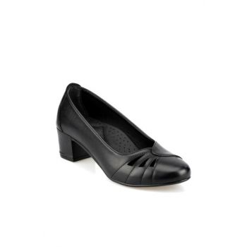 Women's Black Heeled Shoes 92.151061.Z