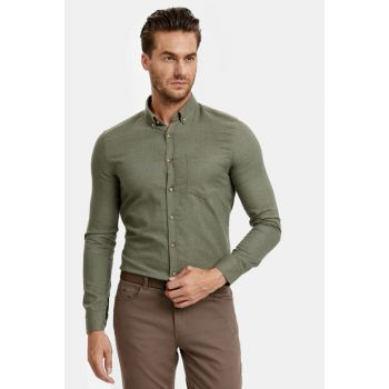 Men's Green Shirt 8W3593Z8