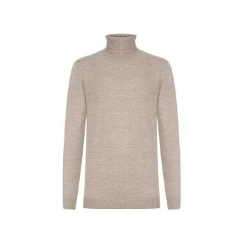 Men's Mink Turtleneck Sweater 343952