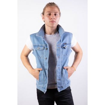 Denim Vest - YLK.MV