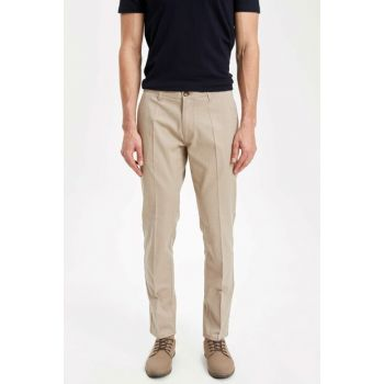 Men's Beige Chino Trousers K3249AZ.19SM.BG193