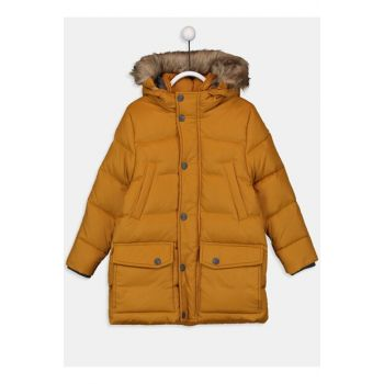 Boys' Dark Yellow H3G Coat 9W4885Z4