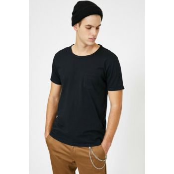 Men's Black Pocket Detail 0YAM12317LK