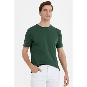 Men's Medium Green T-shirt 9SC709Z8