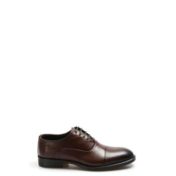 Genuine Leather Coffee Men Classic Shoes 2273398