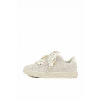 Pink Girls Sports Shoes Suede Heart Athluxe 36684503