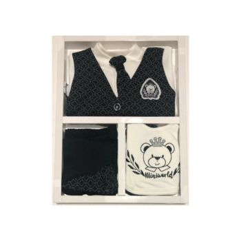 Baby Boy 5 Li Tie Layette Set Hospital Outlet Antiallergic Cotton Fabric 14401