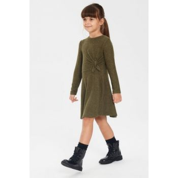 Girl's KHAKI HDA Dress 9WT055Z4