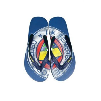 Navy Blue Children Slippers HK216