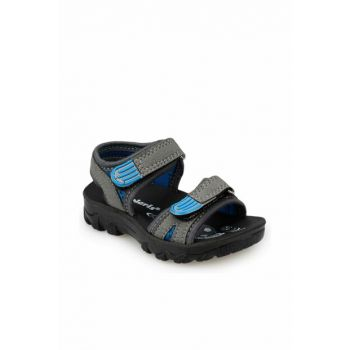91.510358.B Gray Sandals for Boys