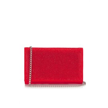 Red Women's Portfolio / Clutch Bag 03CAH117810A750