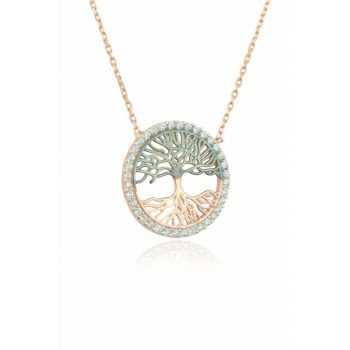 Women's Tree of Life Necklace - Rose KL-0516