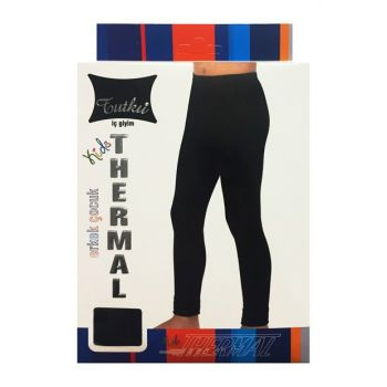Boys' Black TecTermal Bottom 4102970001