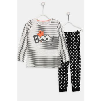 Girl's Pajamas Set 8W8480Z4