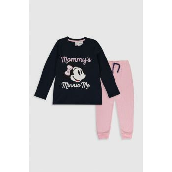 Girl's LIGHT Navy Blue HLY Pajamas Set 9WS747Z4