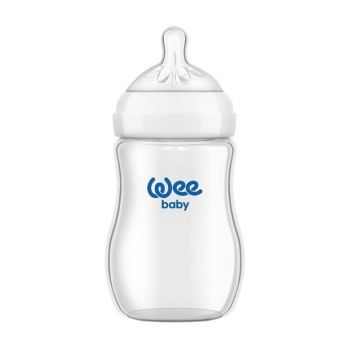 Baby Natural Glass Wide Bottle Feeding Bottle 250 ml 8690797101459