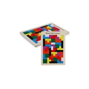 Wood Intellegence Wooden Tetris Educational Toy - Development Game HBV000001CXJ8