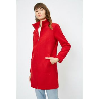 Women's Red Coat 0KAK06664EW