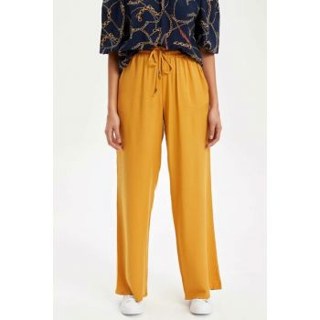 Women's Yellow Relax Fit Pants J8738AZ.19SP.YL82