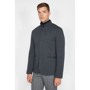 Men's Dark Blue Jacket 0KAM59086NK