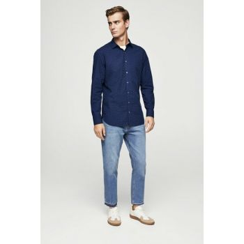 Men's Dark Blue Shirt