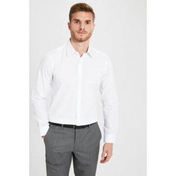Men's Bright White Shirt 0S0674Z8
