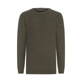 Men's Khaki Crew Neck Pullover 360575