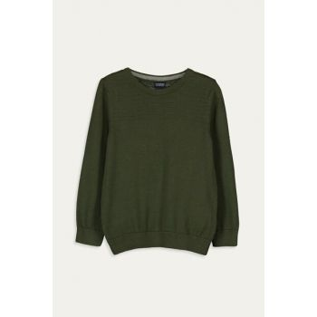 Boy Child Medium Green Hcl Sweater 9W1016Z4
