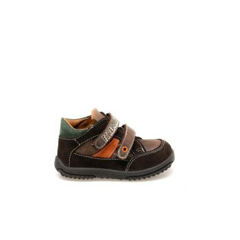 7208B31 Brown Boy Shoes