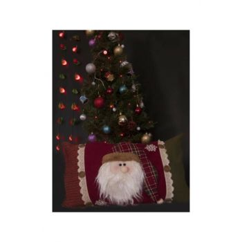 Christmas Pillow Santa Claus Snowman 591077